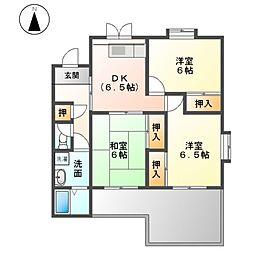 エナール浅野[2階]の間取り