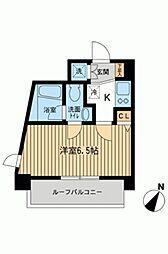 KDXレジデンス雪谷大塚[0701号室]の間取り
