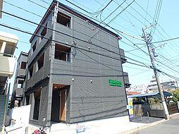 神奈川県大和市林間2の賃貸アパートの外観