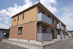 茨城県日立市東金沢町2丁目の賃貸アパートの外観