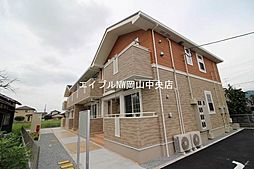 岡山県岡山市中区乙多見丁目なしの賃貸アパートの外観