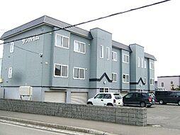 北海道札幌市清田区北野三条3丁目の賃貸アパートの外観