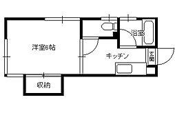 アーバンヒル2階Fの間取り画像