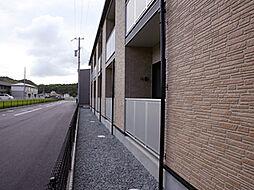 兵庫県たつの市揖保川町山津屋の賃貸アパートの外観