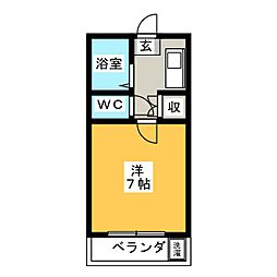 URBAN RESIDENCE[2階]の間取り