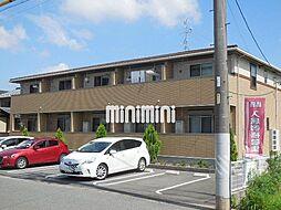 岐阜県岐阜市北一色9の賃貸アパートの外観