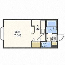 ラピーノ276[2階]の間取り