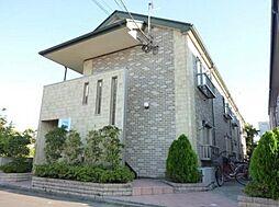 東京都江戸川区松本2丁目の賃貸アパートの外観