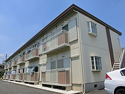 東京都練馬区田柄5丁目の賃貸アパートの外観
