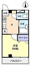 飯田第10ビル[3階]の間取り
