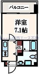 JP レジデンス大阪城東ll[5階]の間取り