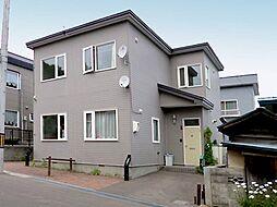 北海道小樽市緑2丁目の賃貸アパートの外観