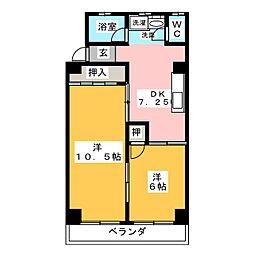 栄町ビル[1階]の間取り