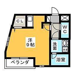 フェリシア桜本町[2階]の間取り