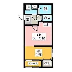 FELICE III[2階]の間取り