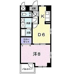 日吉マナーハウス[3階]の間取り