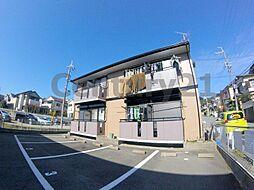 大阪府箕面市如意谷2丁目の賃貸アパートの外観