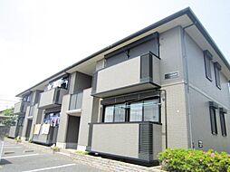 茨城県ひたちなか市はしかべ1丁目の賃貸アパートの外観