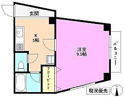 ハートフル本郷[1階]の間取り