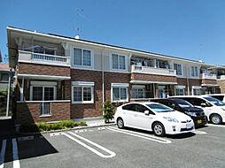 静岡県磐田市千手堂の賃貸アパートの外観
