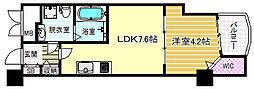 セレニテ梅田EST[13階]の間取り