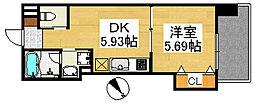ハイツカトレヤ[3階]の間取り