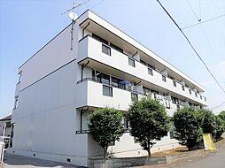 埼玉県越谷市大字大泊の賃貸アパートの外観