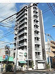 東京都大田区西蒲田の賃貸マンションの外観