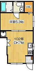 仮)OHANA[1階]の間取り