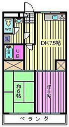 リファインドマンションK[105号室]の間取り