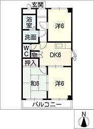 サンライトフジ I[2階]の間取り