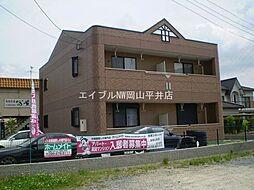 岡山県瀬戸内市長船町福岡の賃貸マンションの外観