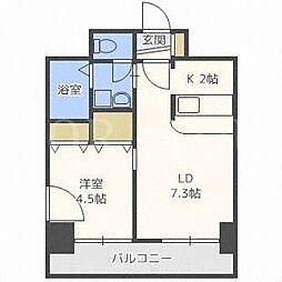 アーク菊水43[11階]の間取り