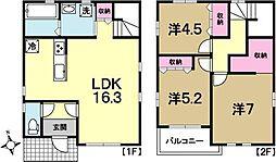 [一戸建] 茨城県水戸市千波町 の賃貸【/】の間取り