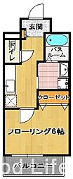 ヴィル ルーチェ[7階]の間取り