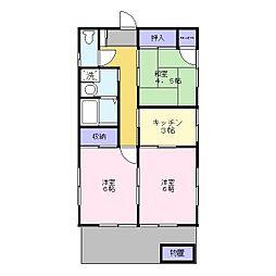 [一戸建] 埼玉県三郷市幸房 の賃貸【/】の間取り