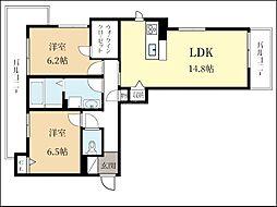 (仮称)シャーメゾン久御山[3階]の間取り