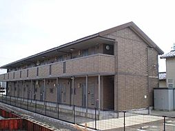 富山県富山市大泉の賃貸アパートの外観