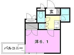 サンライズ豊坂[708 号室号室]の間取り