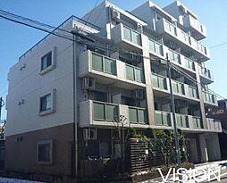東京都板橋区南常盤台2丁目の賃貸マンションの外観