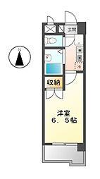 カーサ川並[5階]の間取り