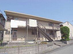 兵庫県明石市魚住町鴨池の賃貸アパートの外観
