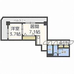 プライムアーバン札幌 RIVER FRONT[9階]の間取り