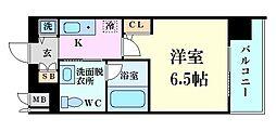 Osaka Metro千日前線 玉川駅 徒歩7分の賃貸マンション 4階1Kの間取り
