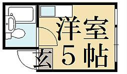 貴船マンション[2階]の間取り