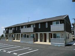 鹿児島県鹿児島市川上町の賃貸アパートの外観
