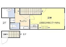 ソルフィー高島平[2階]の間取り