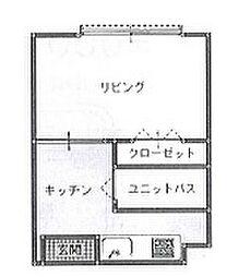 コーポキネマ bt[209kk号室]の間取り