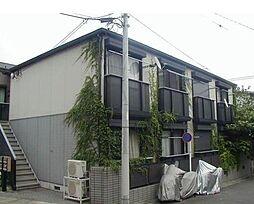 東京都大田区上池台3丁目の賃貸アパートの外観