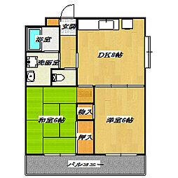 MKマンション[505号室]の間取り